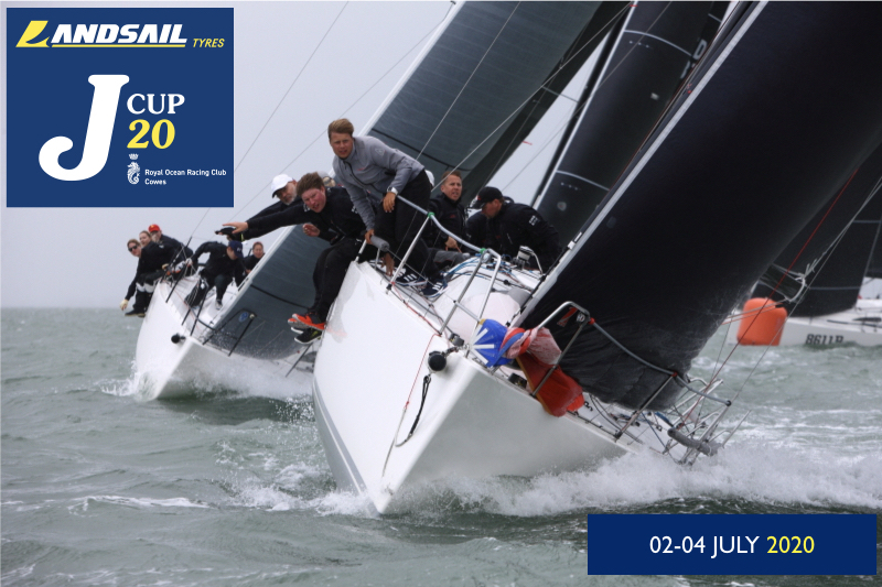 Landsail Tyres will once again be the title sponsor for the 2020 Landsail Tyres J-Cup, hosted by the Royal Ocean Racing Club 2-4 July 2020