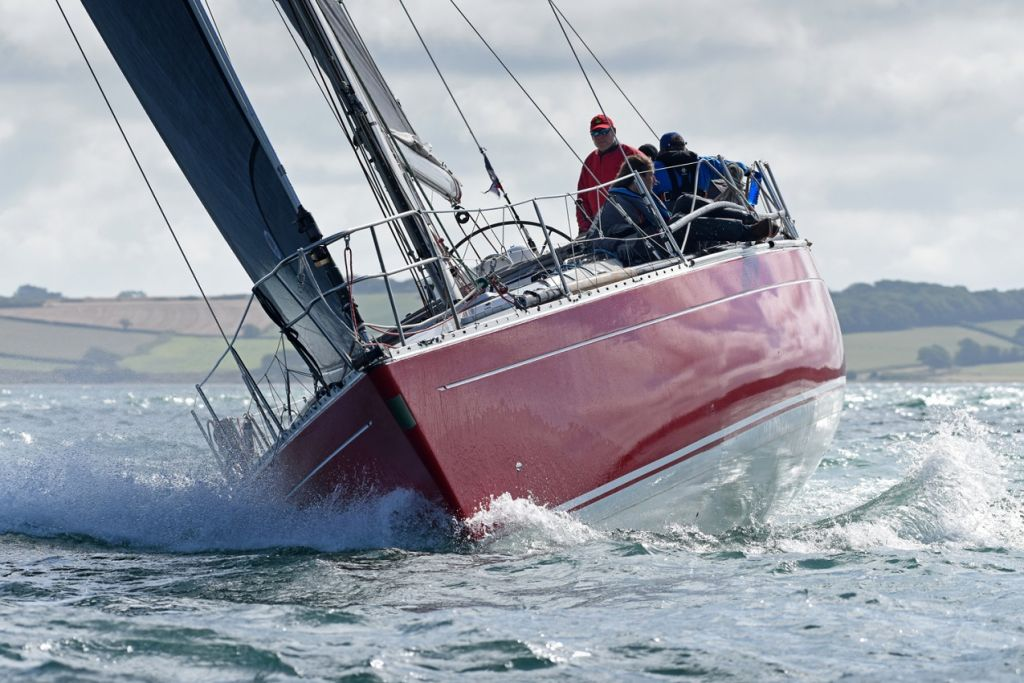 Ross Applebey's Oyster 48 Scarlet Oyster was the winner of IRC Two © Rick Tomlinson