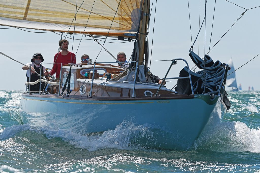 IRC Four was won by Giovanni Belgrano's classic sloop Whooper © Rick Tomlinson