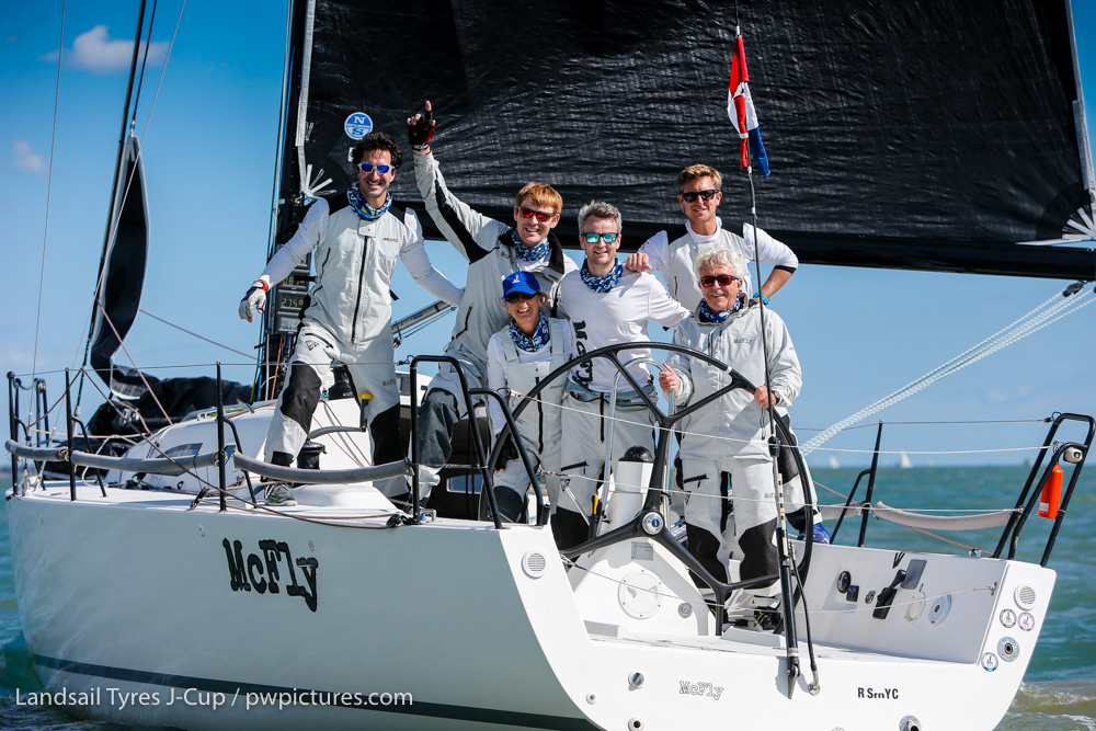 Tony & Sally Mack's J/111 McFly - J-Cup winners and J/111 UK National Champion © Paul Wyeth