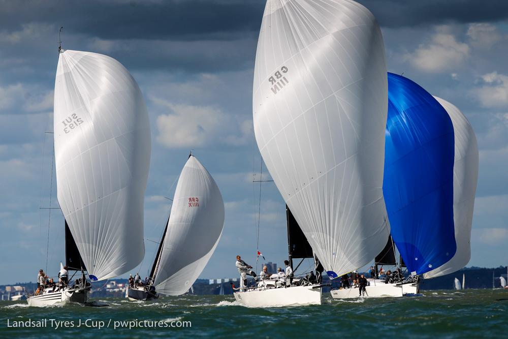 McFly leads the J/111 Class © Paul Wyeth