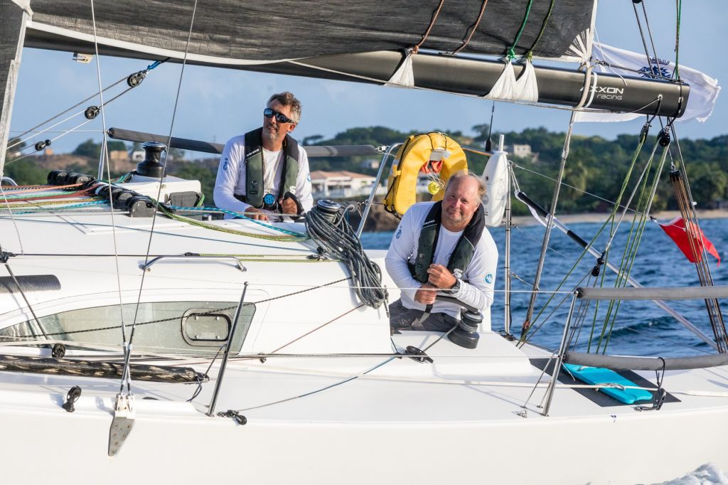 Richard Palmer and Jeremy Waitt on JPK 10.10 Jangada - RORC 2020 Yacht of the Year following a big season that started with outright victory in the Transatlantic Race and ended with their winning the IRC Two-Handed Autumn Series © Arthur Daniel