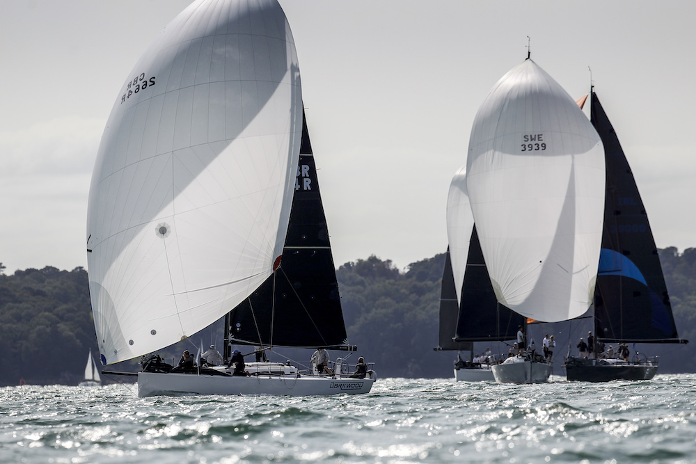 Michael O'Donnell's J/121 Darkwood will be competing in the RORC Spring Series © Paul Wyeth