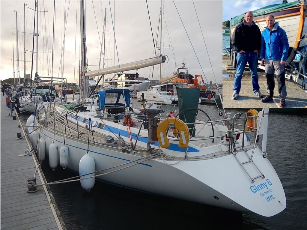 Alex Bennett will race his Swan 46 Mk1 Ginny B doublehanded with fellow solo offshore sailor Conrad Humphreys © Ginny B