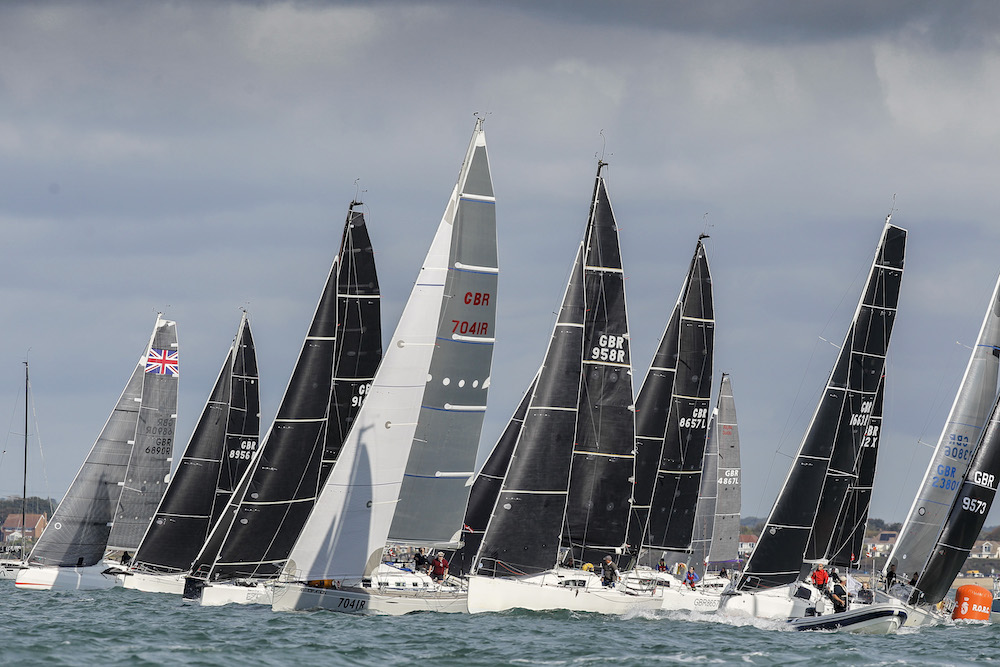IRC Two-Handed is expected to be the largest class racing in the RORC Spring Series © Paul Wyeth