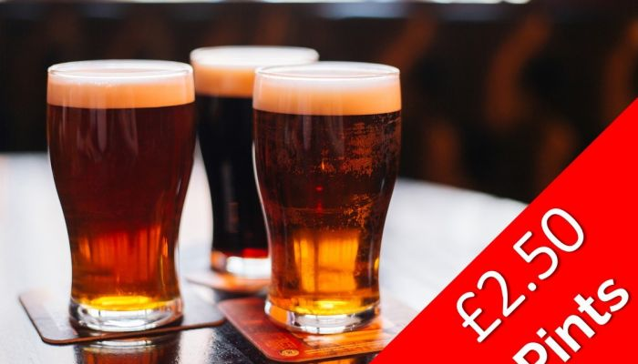 Friday Drinks Offer