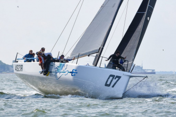 James Neville's HH42 Ino XXX (Rick Tomlinson) Image from 2019 RORC Vice Admirals Cup