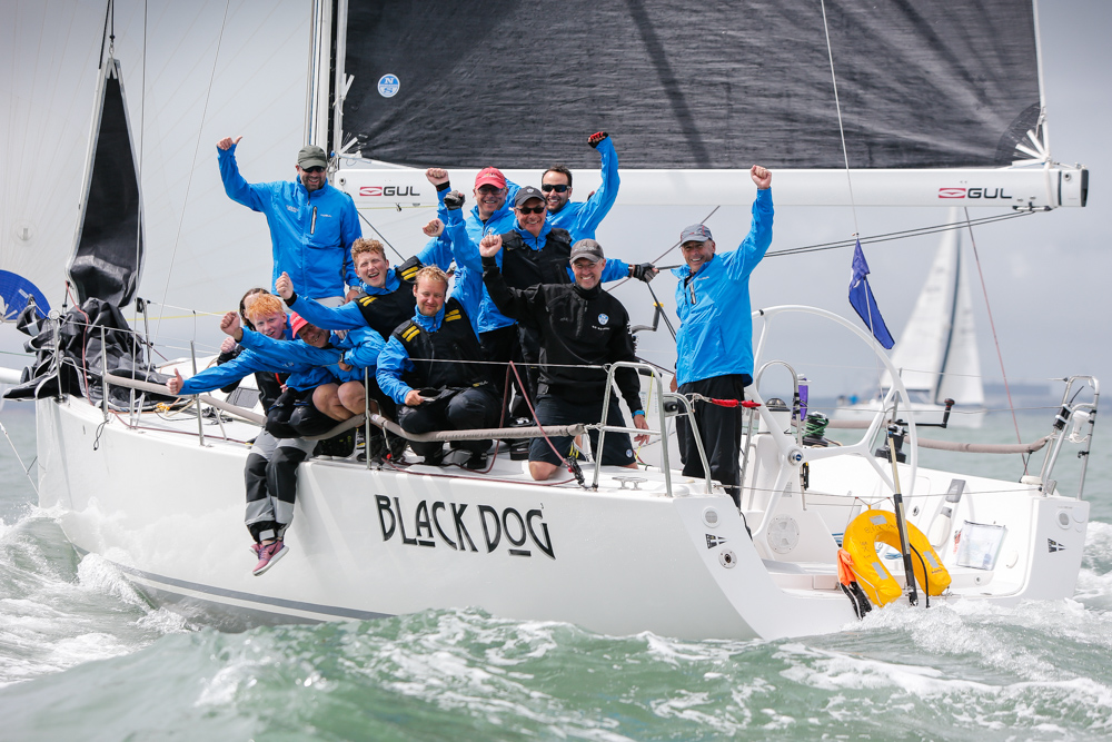 Stuart Sawyer's J/122 Black Dog - 2019 IRC National Champions © Paul Wyeth/pwpictures.com