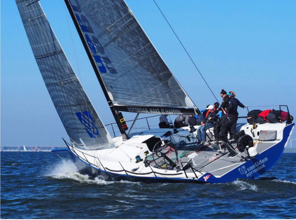 Dutch Ker 46, Van Uden, skippered by Gerd-Jan Poortman, is the winner of the 2017 North Sea Race