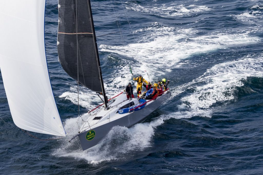 Didier Gaudoux skippered the JND 39 Lann Ael to victory in the 2017 edition © Rolex/Carlo Borlenghi