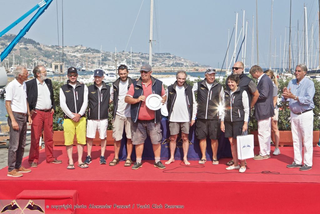 The winners of the 2019 IRC Europeans in Sanremo - ©Alex Panzeri/ Yacht Club Sanremo