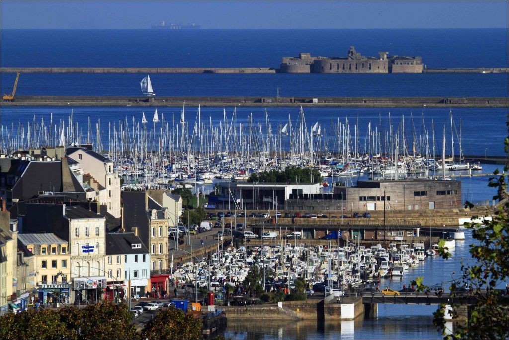 The City of Cherbourg will host the finish of the Rolex Fastnet Race in 2021 and 2023 © JM Enault /Ville de Cherbourg en Cotentin