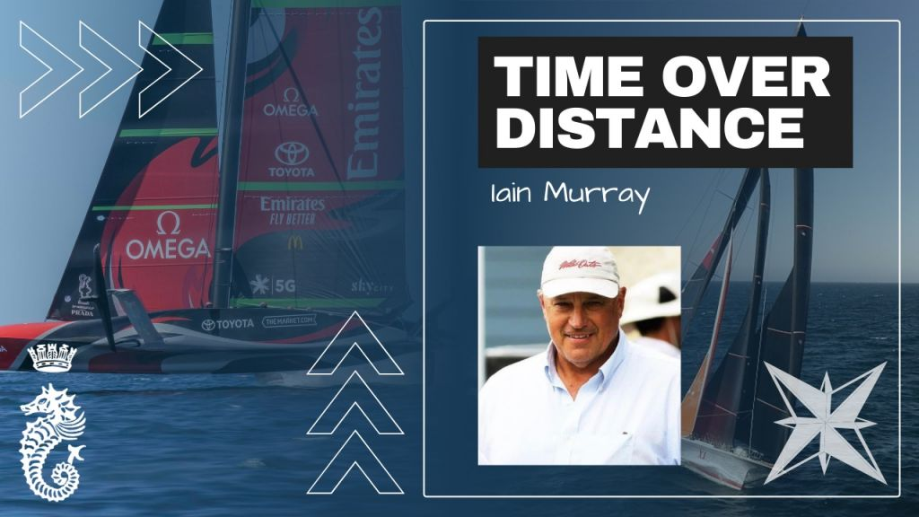 Time Over Distance with Iain Murray, Race Director for 36th America's Cup in Auckland, New Zealand © America's Cup Event / Challenger of Record / ACPI