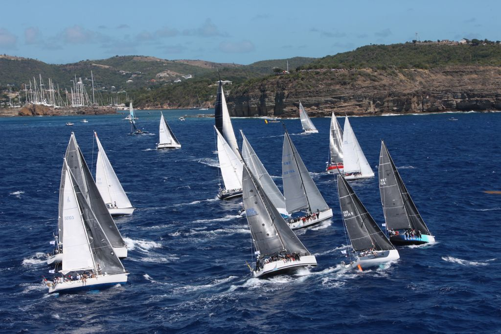 Competitors will have to wait until 21 February 2022 to take part in the Caribbean's only offshore race - the RORC Caribbean 600 - after the RORC announced the cancellation of the 13th edition due to the pandemic © Tim Wright/Photoaction.com